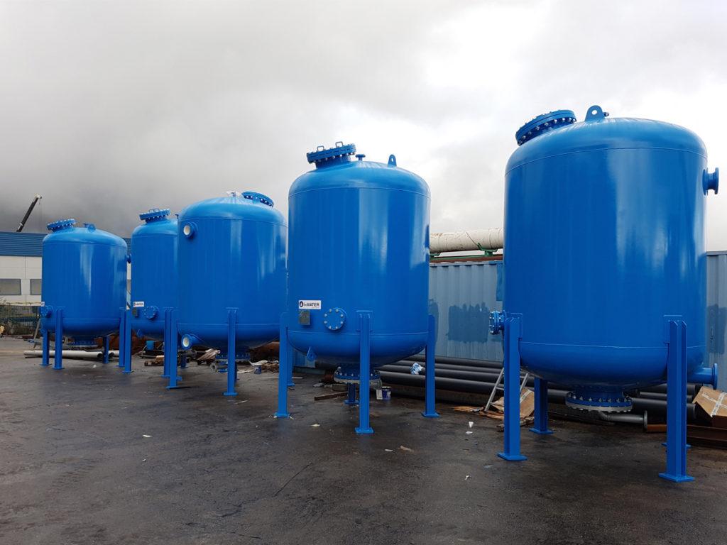 Premier système de filtration de pression au panama