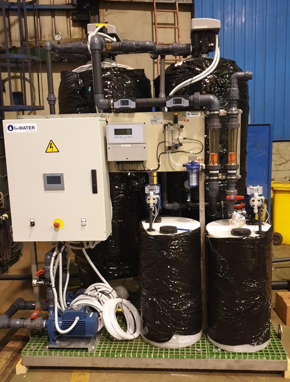 Equipos de filtracion de silex y antracita y de carbón activo