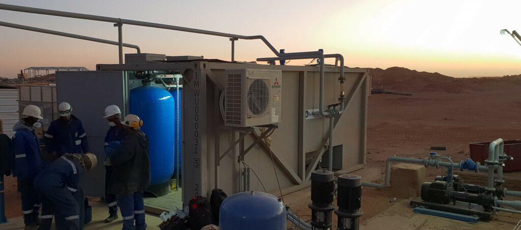 ImWater pone en marcha una estación de tratamiento de agua de proceso para un complejo minero en África