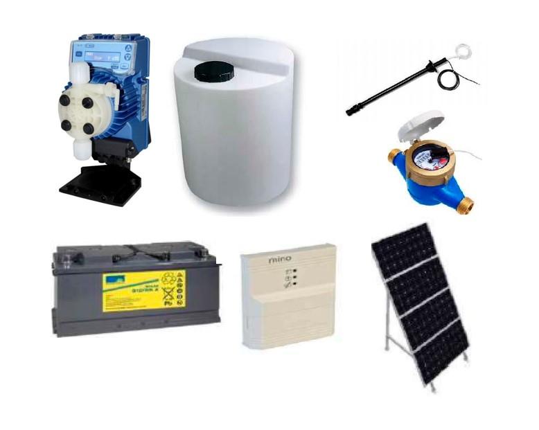 ImWater suministra kits de cloración solar para Castilla y León